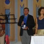 Silvia Grazioli premia M. Allario e V. Effarotti