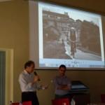 Gianfranco Quaglia premia Leonardo Arca