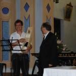 Gianfranco Quaglia premia Roberto Morgese