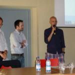 Gianfranco Quaglia, Luca Platini e Renzo Andorno