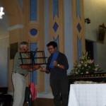 Carlo Masseroni premia Giovanni Contarino
