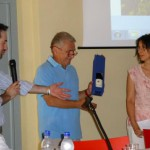 Eraldo Teruggi premia Stefania Monsini