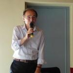 Il presidente di giuria Gianfranco Quaglia