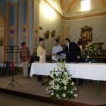 Silvia Grazioli premia Mauro Caneparo