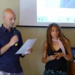 Renzo Andorno premia Isabella Giannone