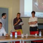Gabriele Cantoia premia Marco Rodolfi