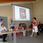 Adriano Fontaneto premia Sara Comeri